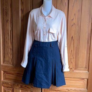 Navy Blue French Toast School Uniform Skirt